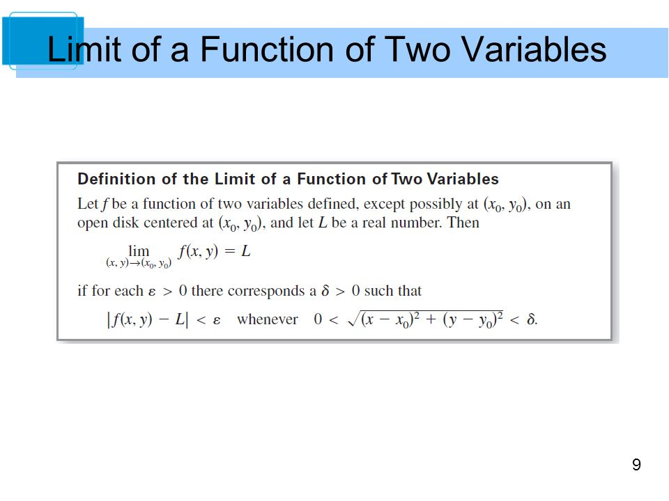 Functions of Several Variables Copyright © Cengage Learning