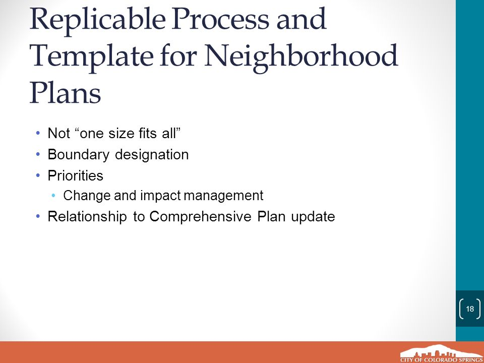comprehensive plan infill chapter and action plan cono update