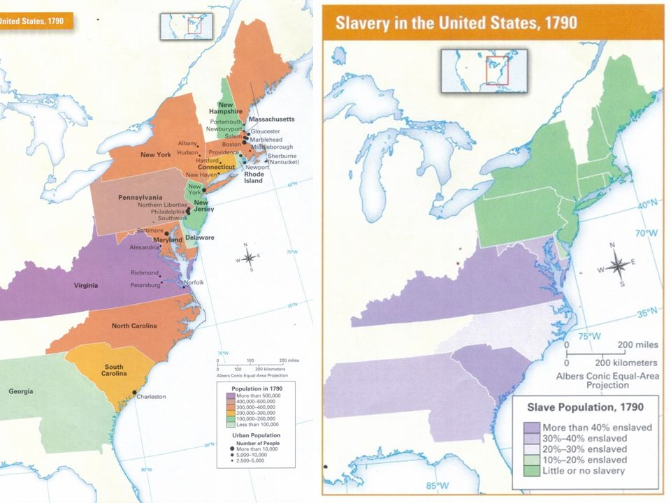 1790 Map Of United States.54 Geography Of The United States In 1790 Lesson Ppt Download