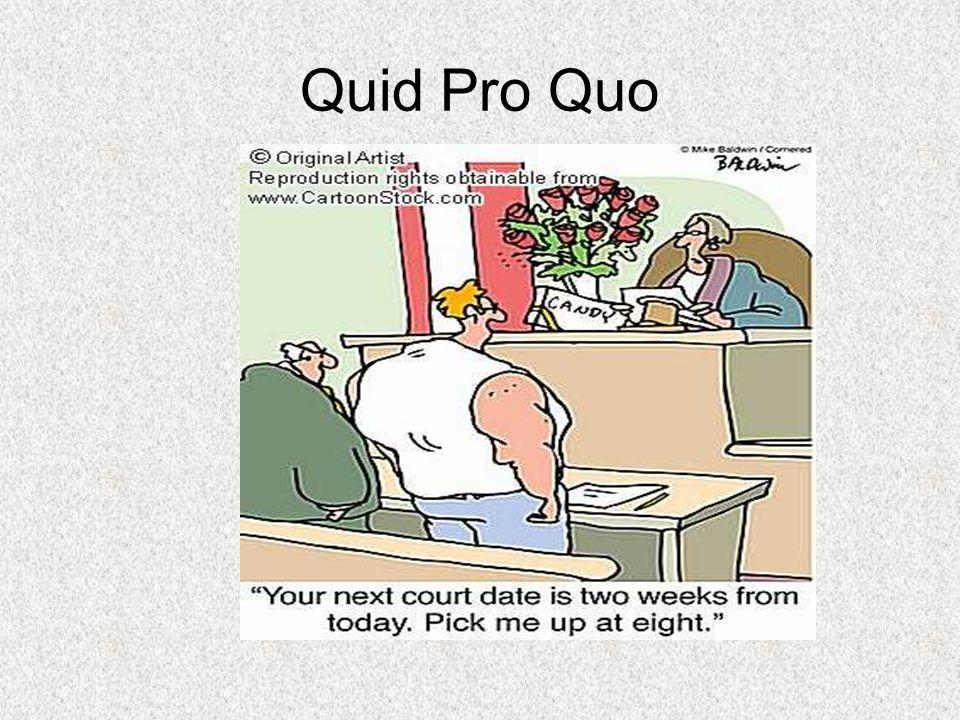 Sexual harassment quid pro
