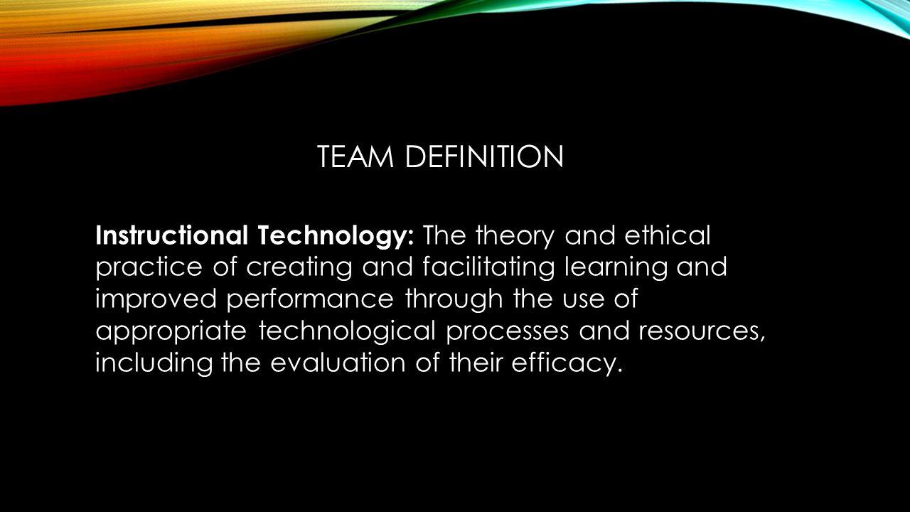 It Definition Team Members Shenchen Li Emilio Rodriguez Matthew