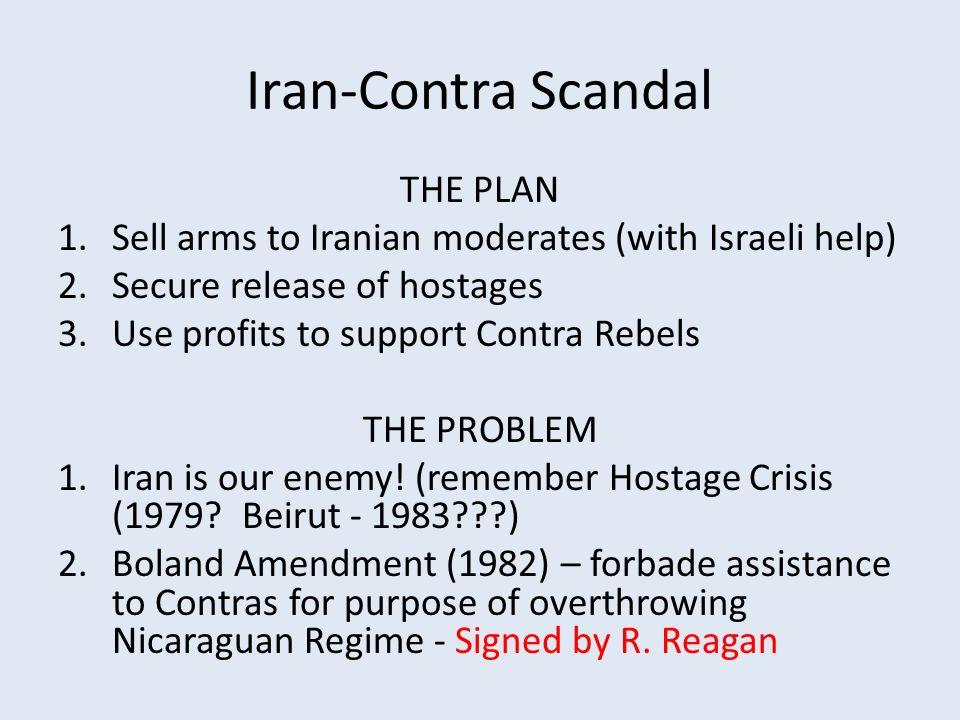 iran contra scandal summary