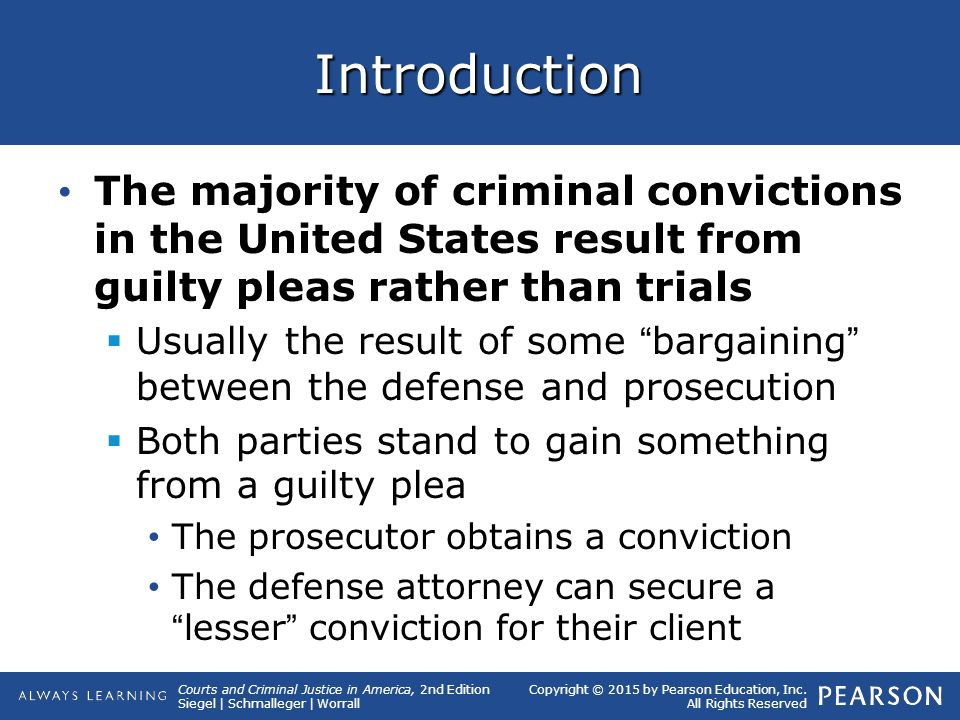 Courts and Criminal Justice in America CHAPTER Courts and