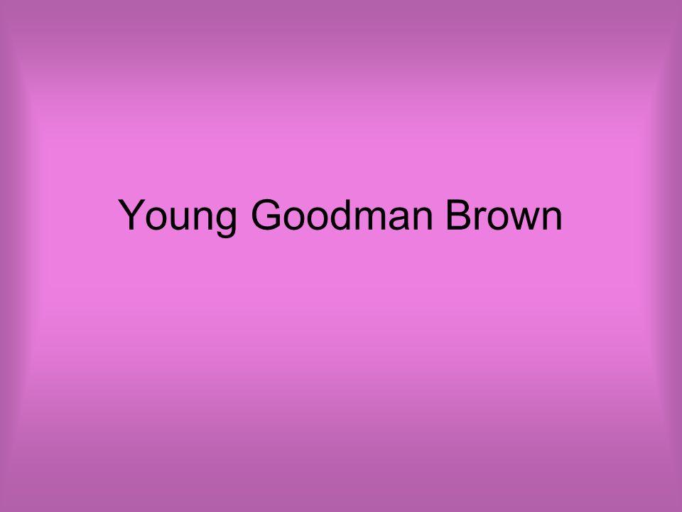 young goodman brown main idea