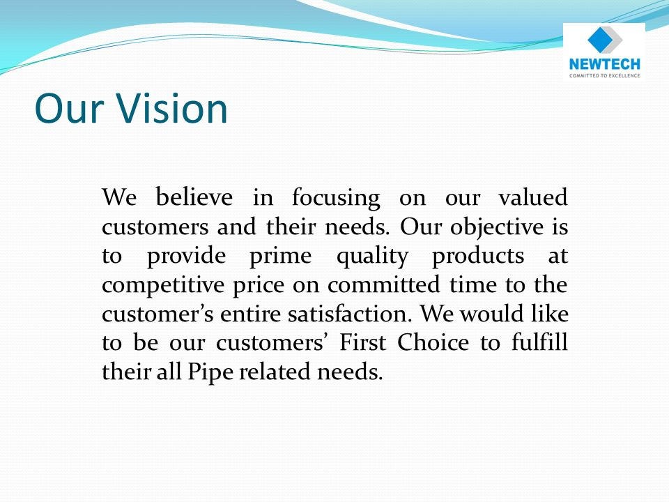 About Us Established in 2000 Manufacturing HDPE, UPVC & PPRC Pipes