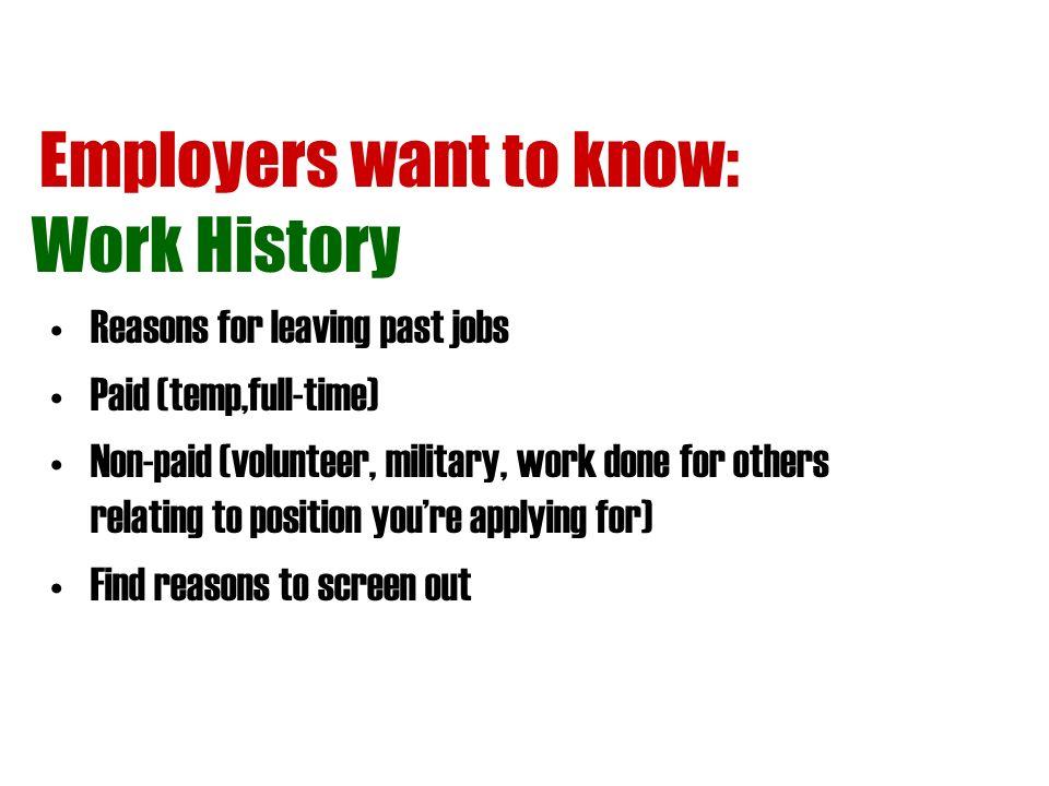 Job Applications Tips PEP Talk Pre Employment Preparation Ppt
