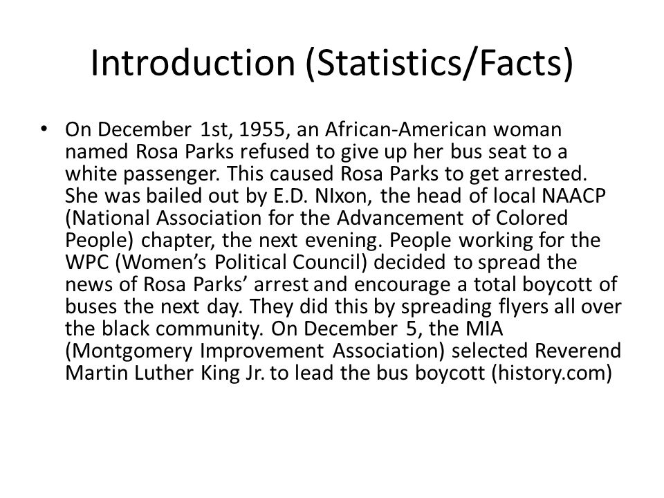 research paper on rosa parks