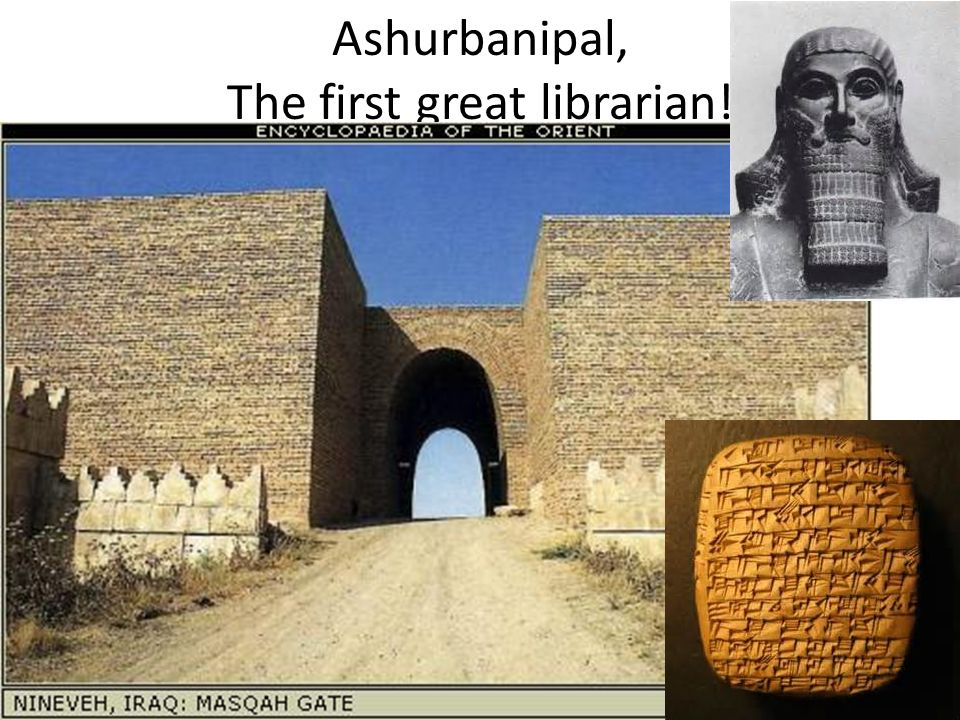 Ashurbanipal, The first great librarian!