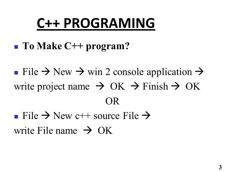 Appendix Lab Manual for Programming Skills 1  How to work