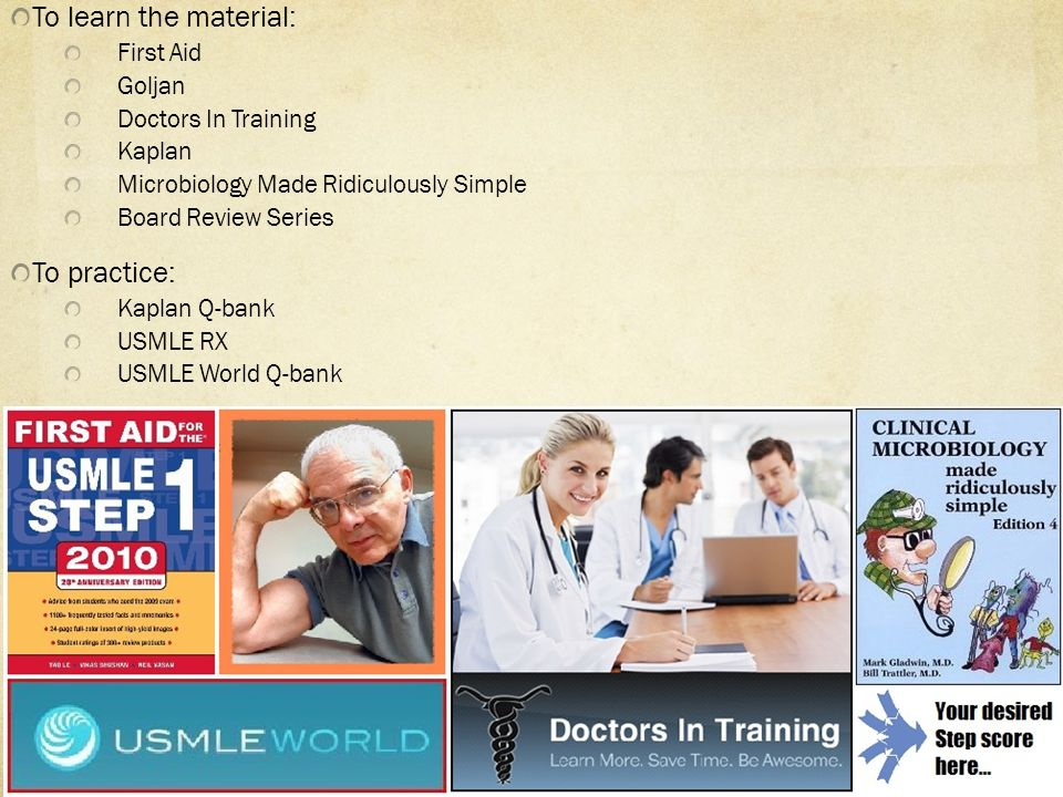 Education Night USMLE A three-step examination for medical licensure