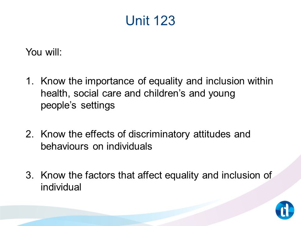 importance of inclusion in health and social care