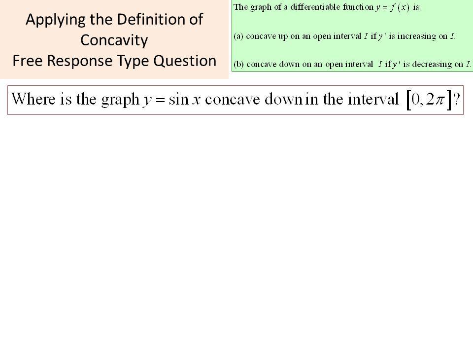 AP Calculus Unit 4 Day 5 Finish Concavity Mean Value Theorem
