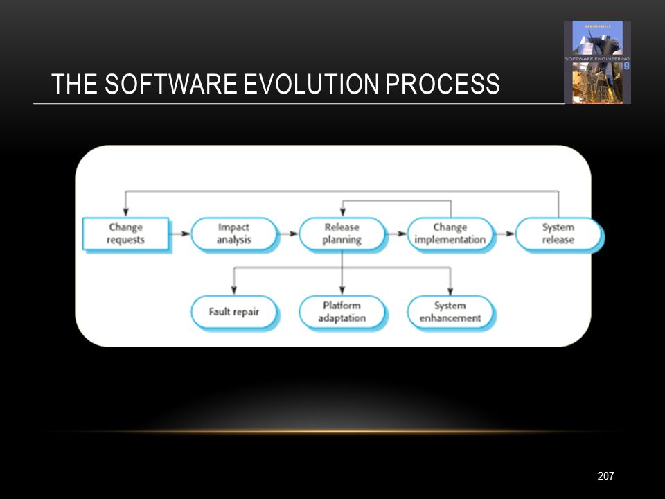 THE SOFTWARE EVOLUTION PROCESS 207