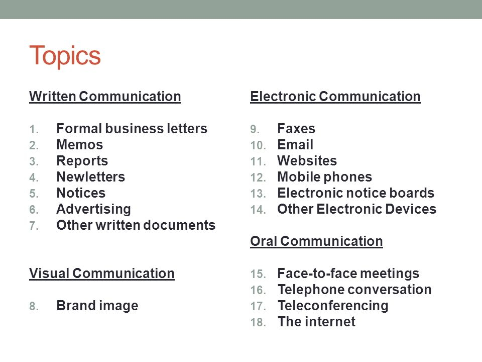 importance of electronic communication