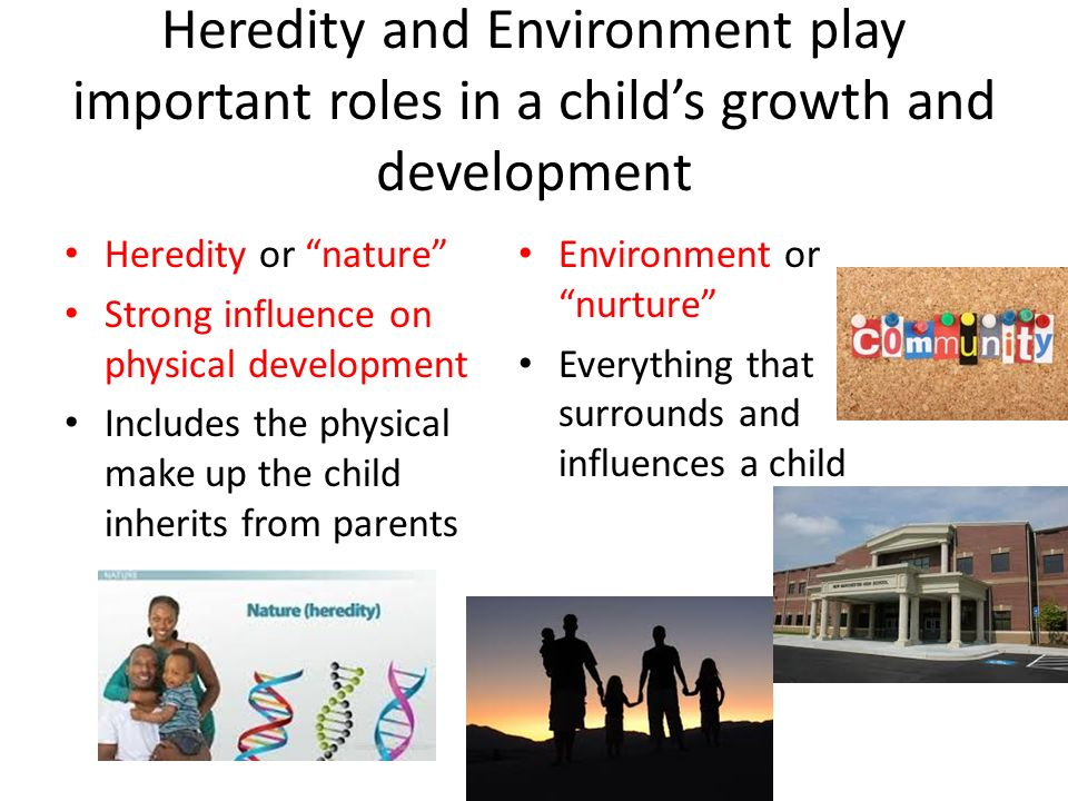 how does nature affect physical development