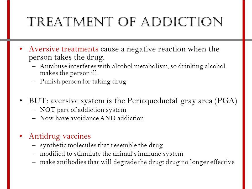 Avoidance addict characteristics