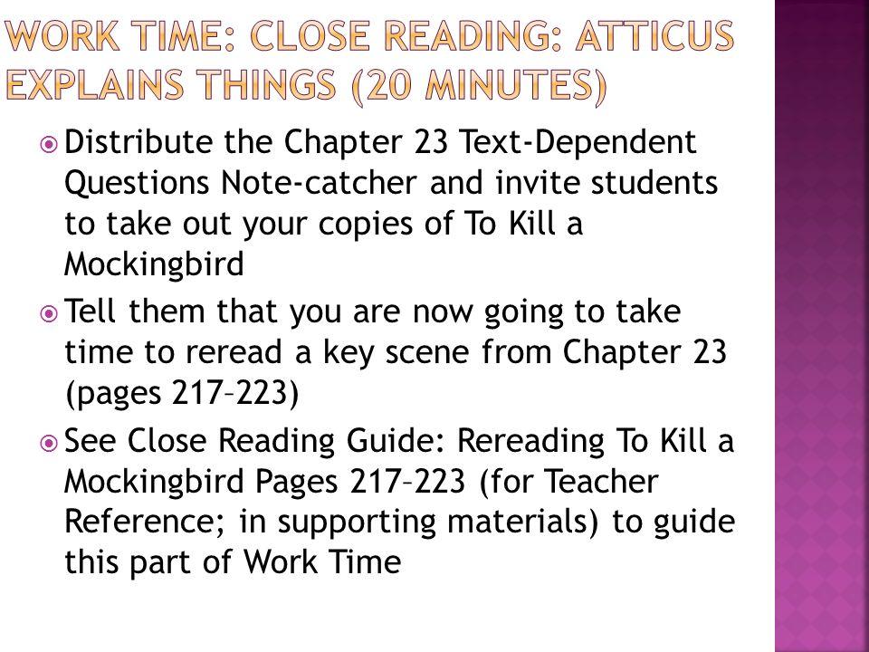 chapter 23 to kill a mockingbird