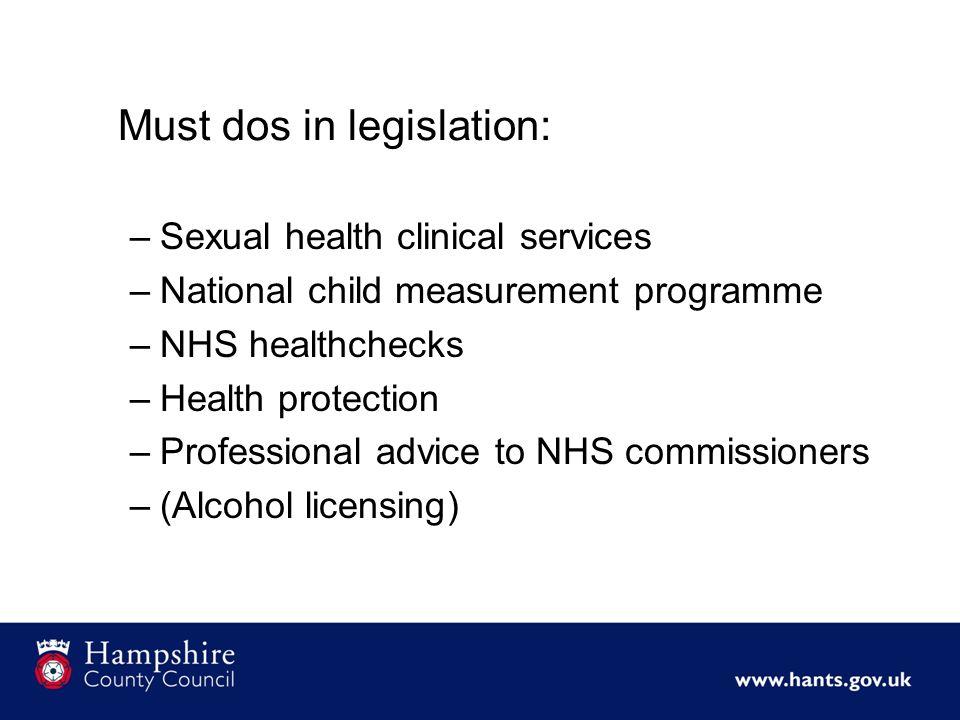 Sexual health legislation uk
