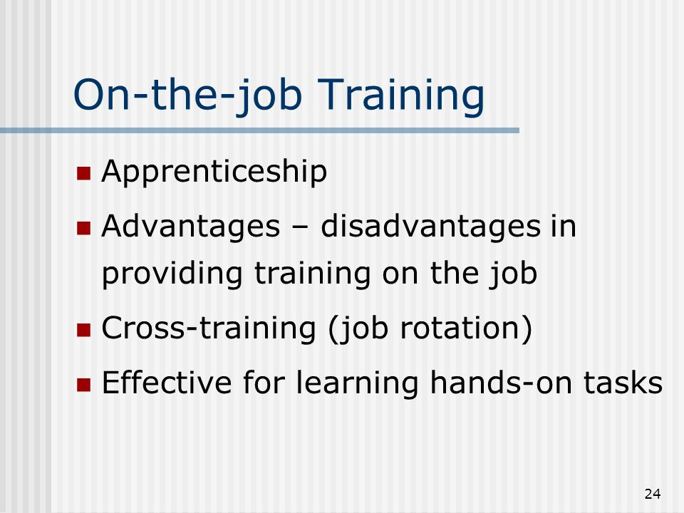 job rotation advantages and disadvantages