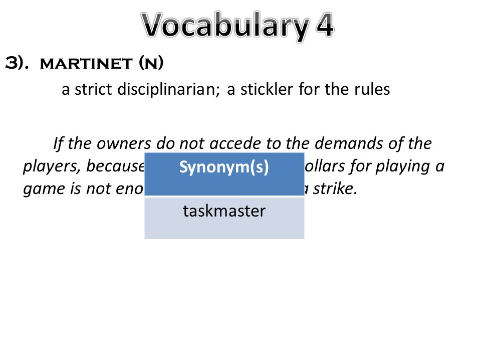 stickler for the rules synonym