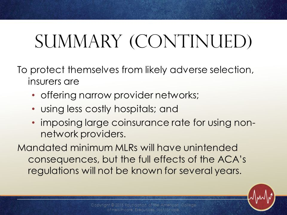 how do insurance companies protect themselves from adverse selection
