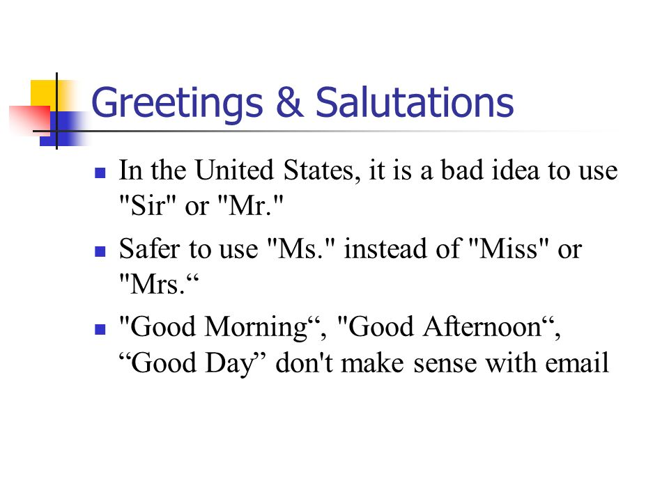 Writing s to make sure your messages get read ppt download 11 greetings m4hsunfo