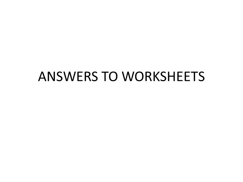 Answers To Worksheets Types Of Bonding Br I O N S Ppt Download