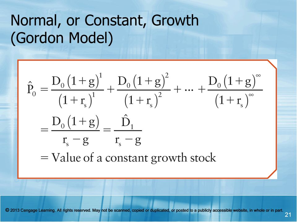 chapter 7 stocks equity characteristics and valuation ppt download