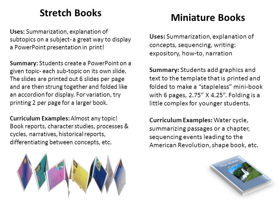 Creative PowerPoint Projects Roberta Thomas Elementary