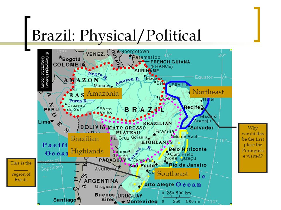 Pages Brazilian Regions -Locate and describe the four ...