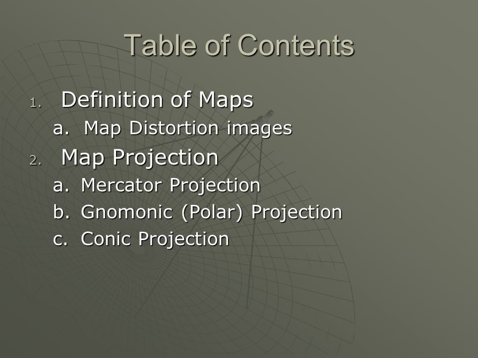 Mapping the Earth\'s Surface Created By: Mr. Kreeger. - ppt ...
