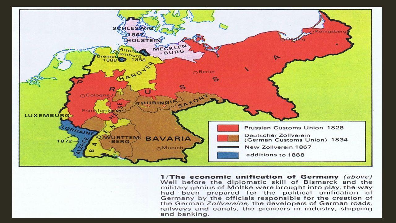 Map Of Zollverein Germany.German Unification Zollverein What Was The Zollverein Rhineland