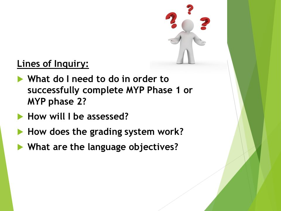 MYP Language Acquisition Objectives Phase 1 and ppt download
