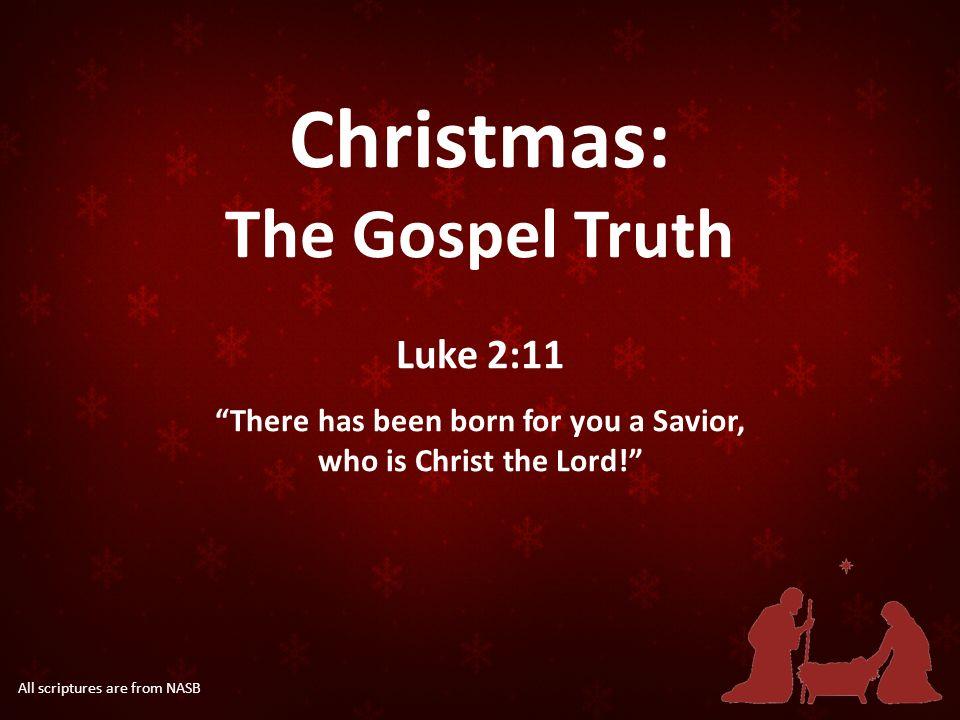 1 christmas - Christmas Scriptures