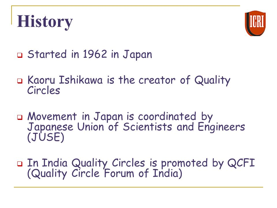 quality circle in india