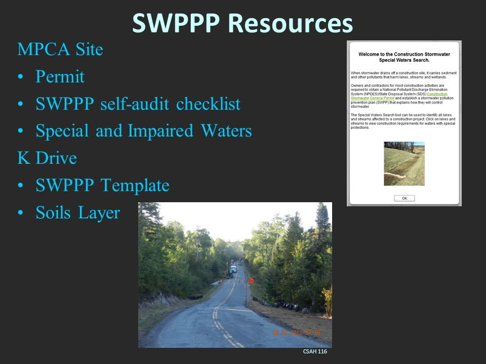 Swppp Template | Erosion And Sediment Control Overview Mpca Npdes Construction