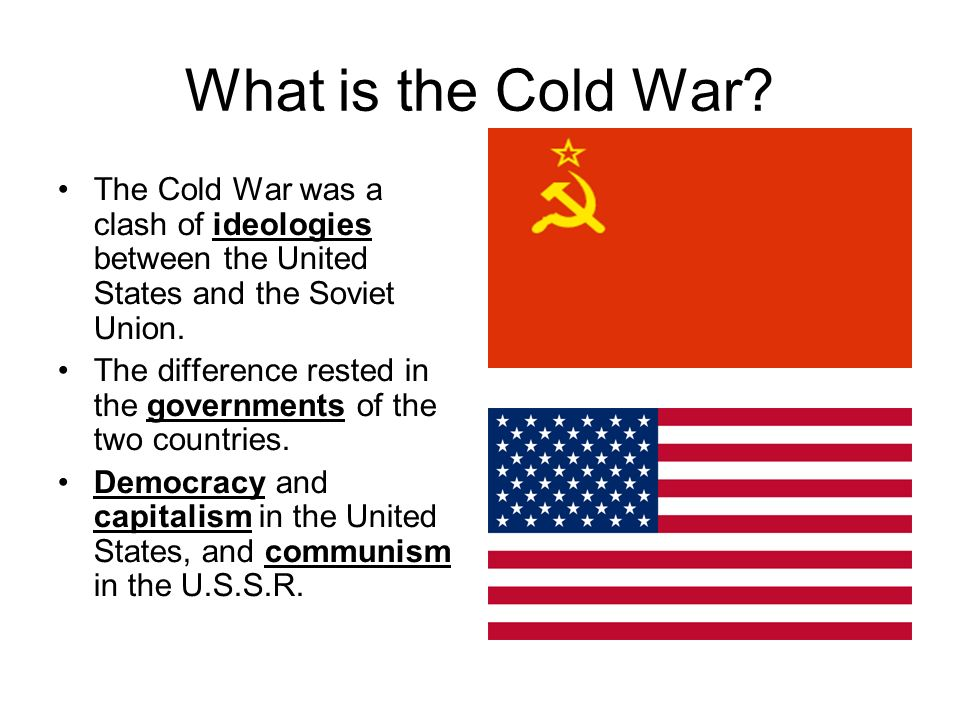 cold war ideological conflict
