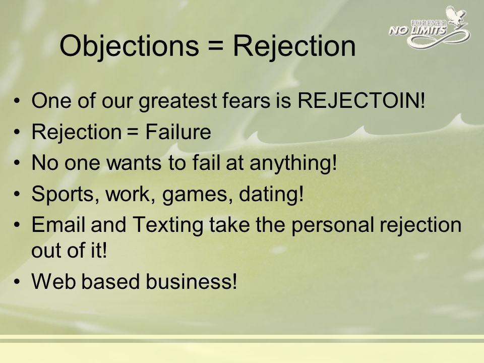 overcoming dating rejection