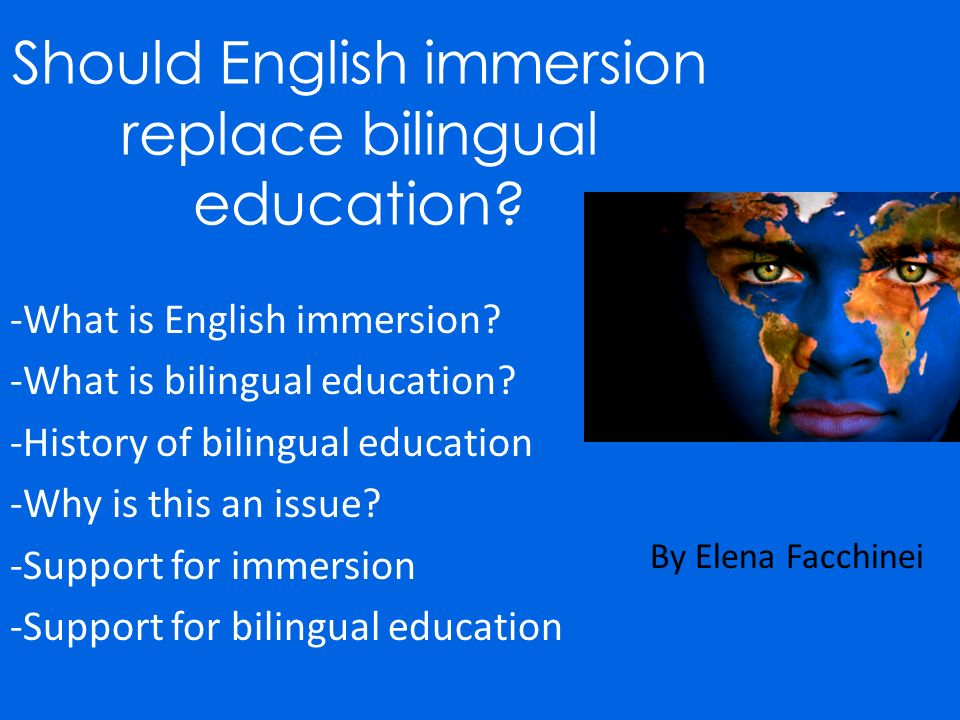 an introduction to the importance of bilingual education Bilingual education has been an area under national discussion since the 1960s being worked out in the 1960's bilingual educational programs were meant to help second language learners to succeed in such subjects as math, science, history and social studies while learning english in special independent class.