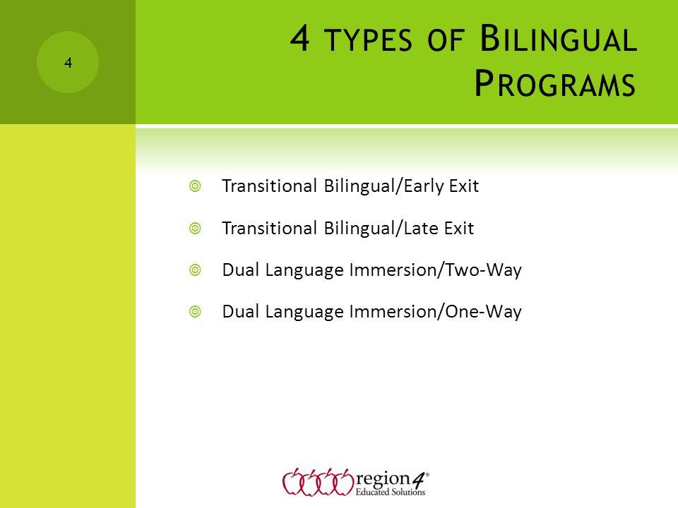 late exit transitional bilingual program