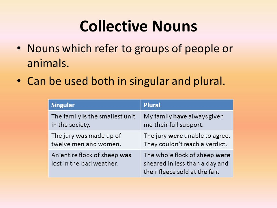 Subject Verb Agreement Introduction Verb Must Agree With Their