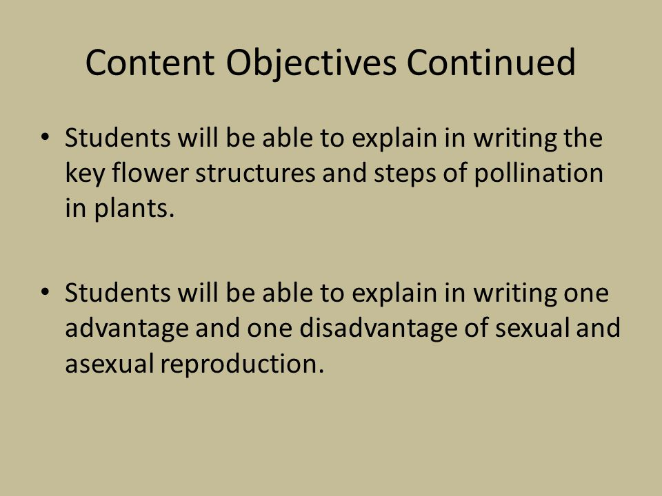 List one advantage and one disadvantage of asexual reproduction