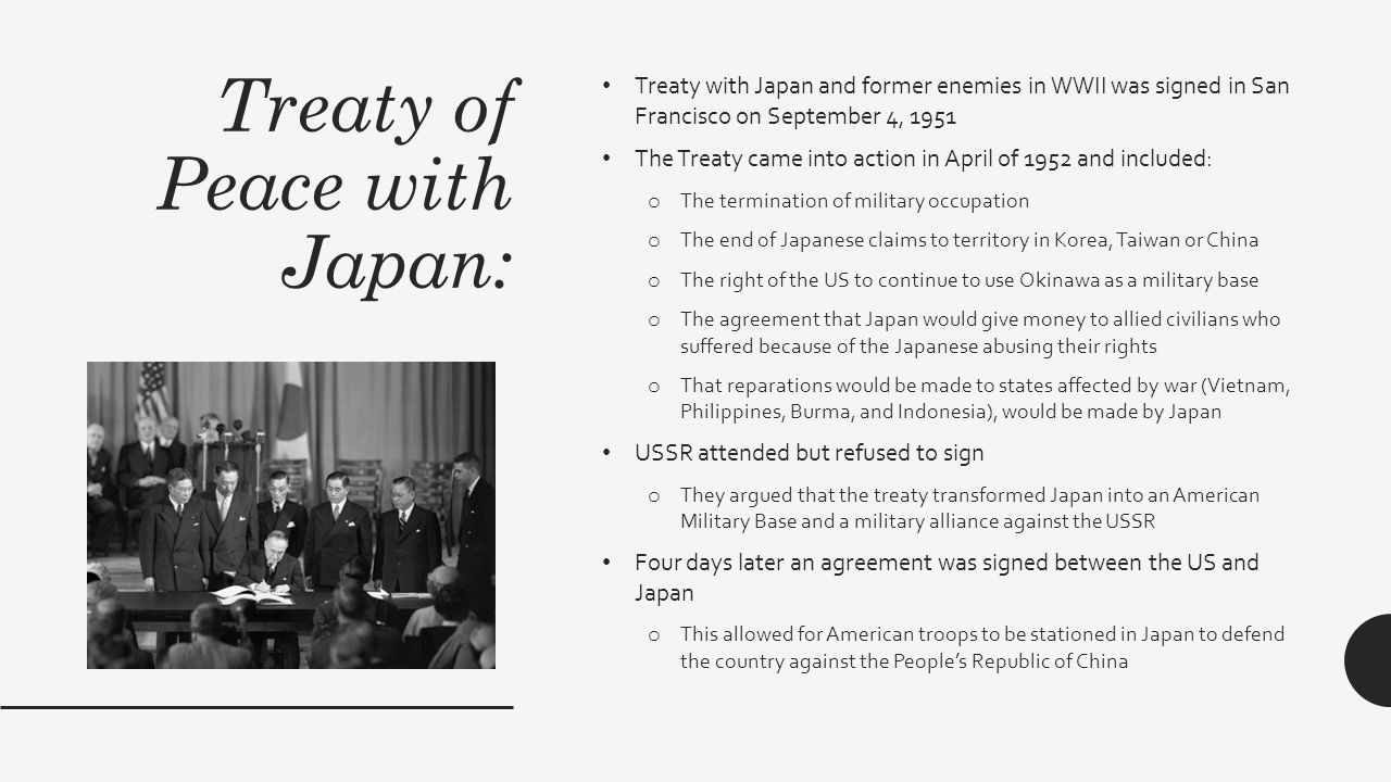 JAPAN AND THE COLD WAR Zoralla, Max and Amanda  - ppt download
