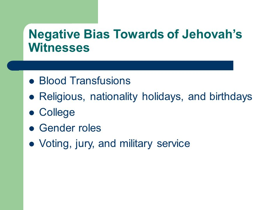 Jehovah's Witnesses By: Cory Tepatti, Tyler Nickels, Josh Vrona, and
