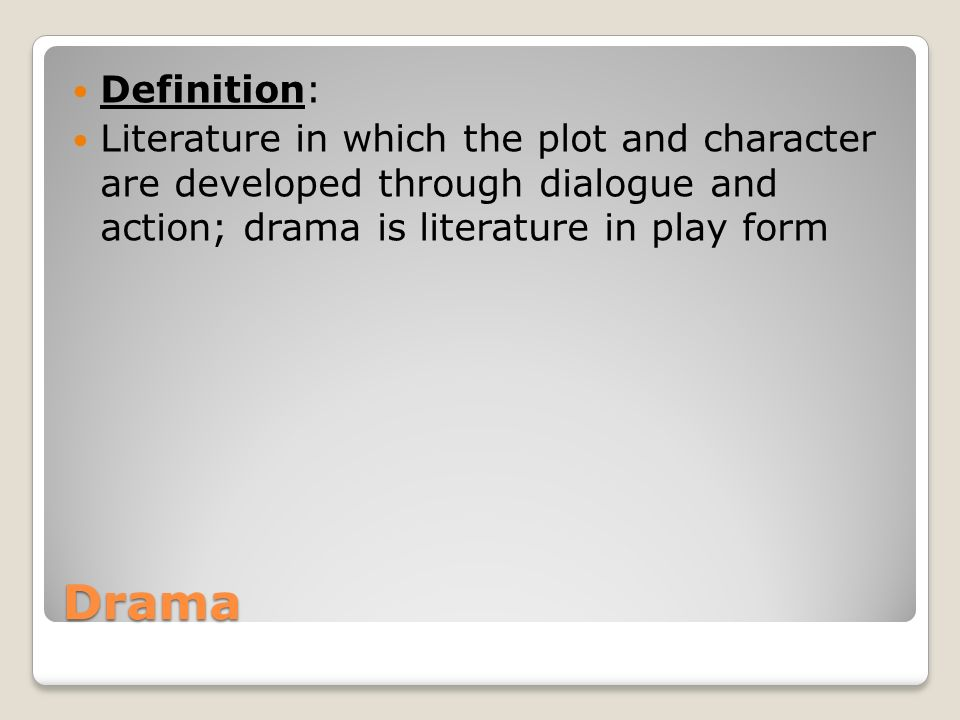 theme of a play definition