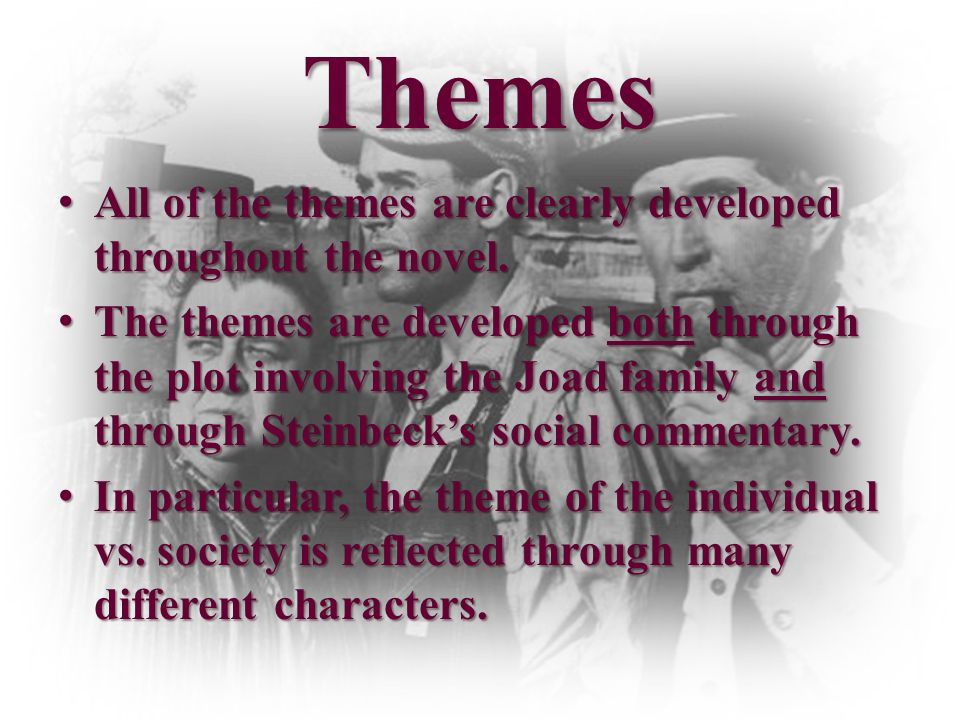 the grapes of wrath themes pdf