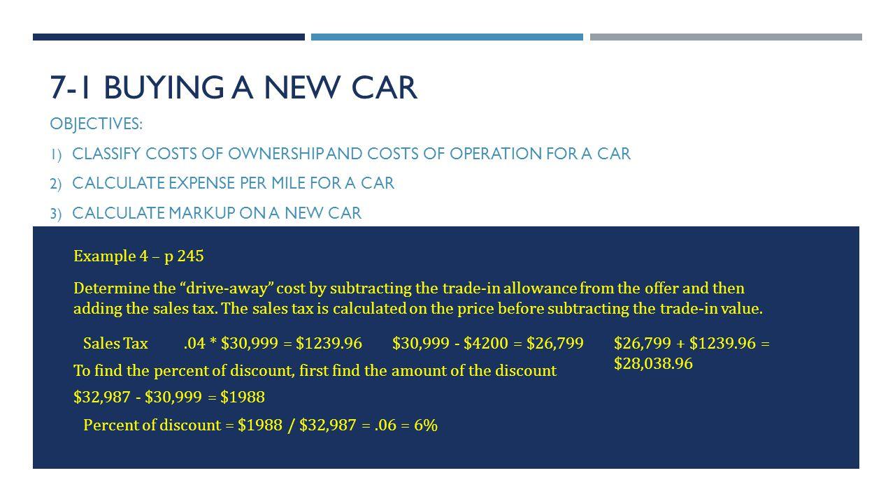 How to Use a California Car Sales Tax Calculator