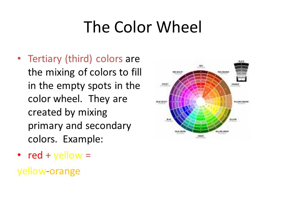 Using Color Cmps 233 The Color Wheel Primary Colors Are The Only