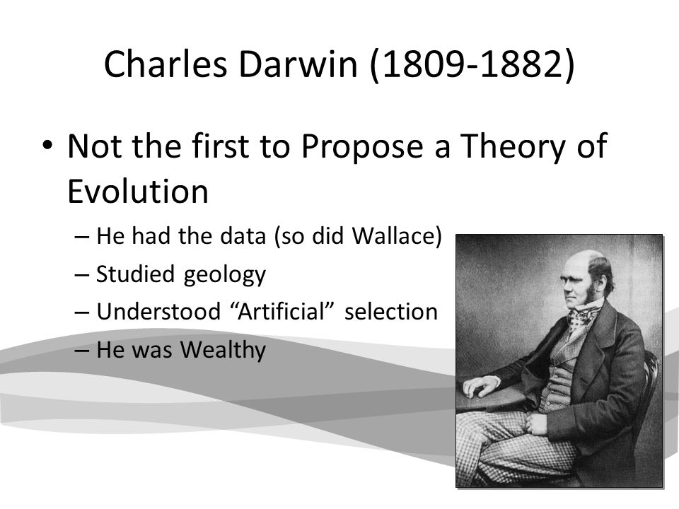 a history of charles darwins theory of evolution Darwin's theory of evolution differs in that it is based on three easily verified observations first, individuals within a species vary from one another in morphology geography and history the school as a means of education to me was simply a blank.