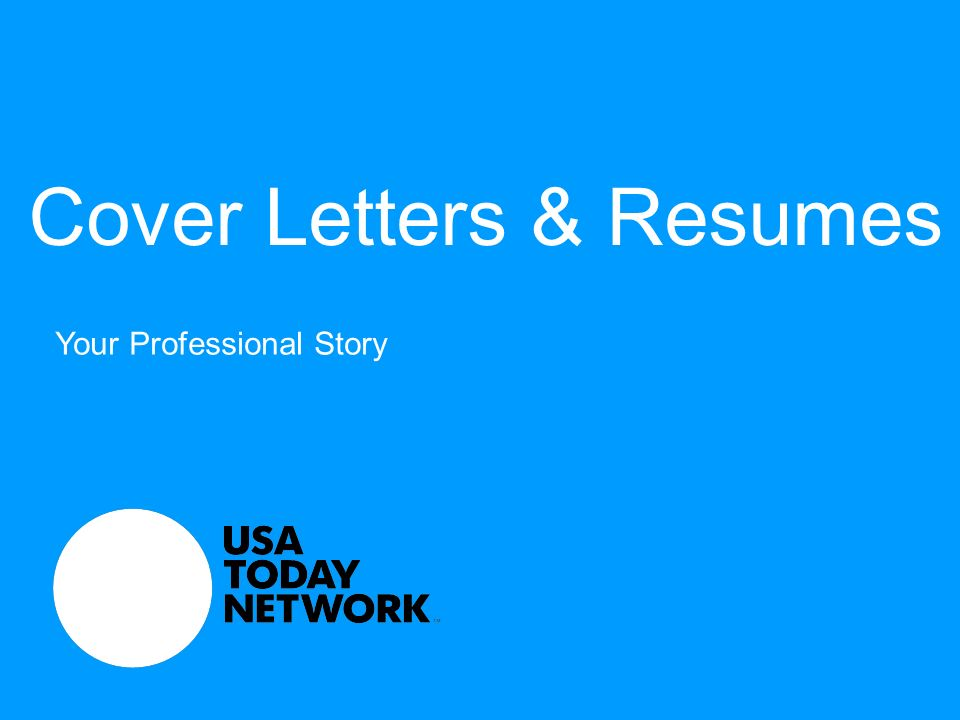 cover letters resumes your professional story 2 relevant in